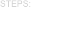 Steps:  Gather information  Investigate  Chart a course  Bring to justice